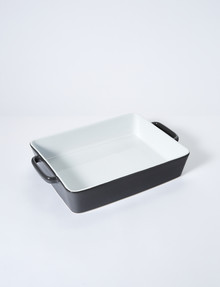 Cinemon Ovenbake Lasagne Dish, Large, Charcoal product photo