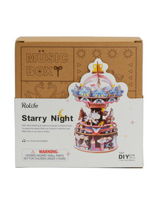 DIY Kits Music Box, Starry Night product photo
