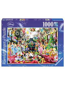 Ravensburger Puzzles Disney All Aboard For Christmas, 1000-Pieces product photo