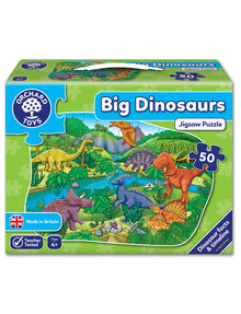 Orchard Toys Big Dinosaur-Shaped Jigsaw, 50-Pieces product photo