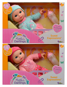 Little Darlings 28cm Sweet Expressions, Assorted product photo