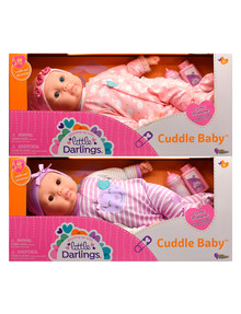 Little Darlings 48cm Cuddle Baby, Assorted product photo