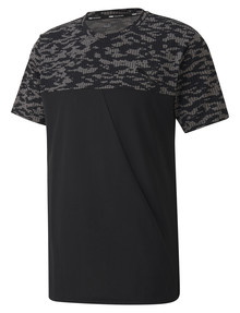Puma Power All-Over Printed Vent Tee, Black product photo