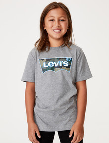 Levis Batwing Tee, Grey Marle Camo product photo