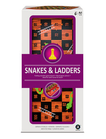 Games Snakes & Ladders Set with Storage Board product photo