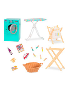Our Generation Tumble & Spin Laundry Set product photo