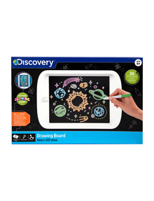 Discovery Drawing Lightboard with Neon LED Glow product photo