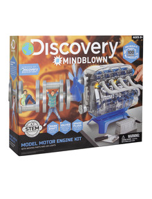 Discovery #Mindblown Model Motor Engine Kit, 100-Piece product photo