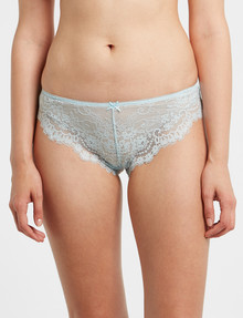 Lyric Cheeky Lace Brief, Ocean product photo