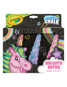 Crayola Unicorn Chalk, 3-Pack product photo
