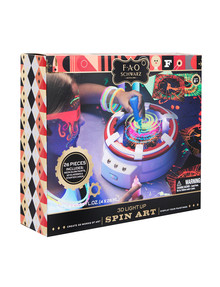 FAO Schwarz 3D Light-Up Spin Art, 26-Piece Set product photo