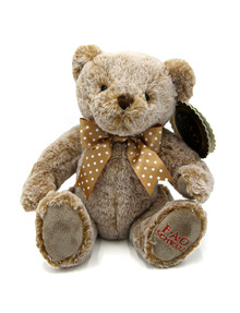 FAO Schwarz Toy Plush Bear Brown, 12inch product photo