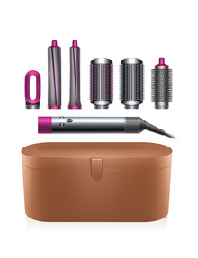 Dyson Airwrap Styler Complete Long, Nickel/Fuchsia product photo