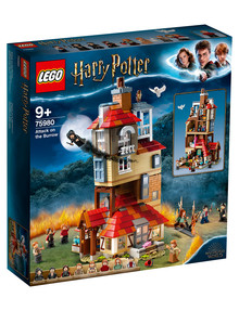 Lego Harry Potter Attack On The Burrow, 75980 product photo