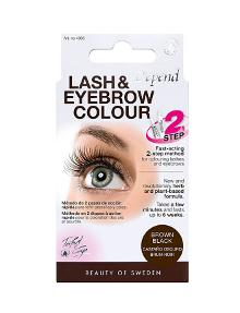 Gellack Lash and Brow Colour, Brown Black product photo