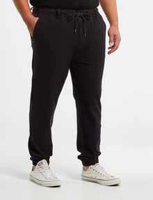 Tarnish King Size Brooks Detroit Knit Jogger, Navy product photo