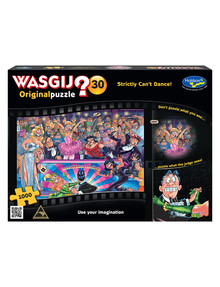 Wasgij Strictly Can't Dance Jigsaw Puzzle 30, 1000-Piece product photo