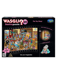Wasgij The Toy Shop Jigsaw Puzzle 20, 1000-Piece product photo