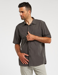Chisel Short-Sleeve Soft-Touch Shirt, Grey product photo