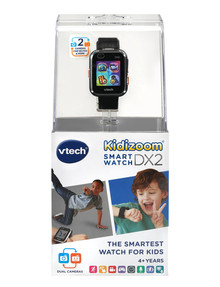 Vtech KidiZoom Smartwatch DX2.0, Black product photo