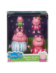 Peppa Pig Bedtime Family Figure Pack product photo