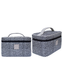 Tender Love + Carry Seaspray Black Travel Toiletry Vanity Bag product photo
