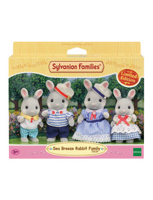 Sylvanian Families Seabreeze Rabbit Family, 4-Piece product photo