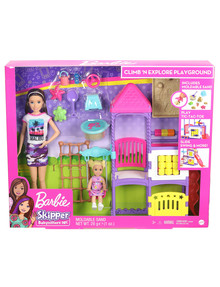 Barbie Barbie Skipper Babysitters Climb'n Explore Playground Dolls and Playset product photo