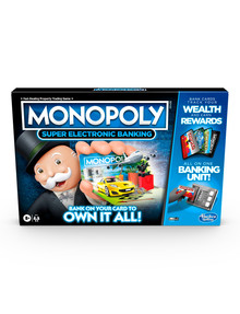 Hasbro Games Monopoly, Super Electronic Banking product photo