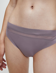 Calvin Klein Perfectly Fit Flex Thong, Plum Dust product photo