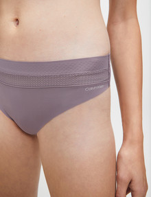 Calvin Klein Perfectly Fit Flex Bikini Bref, Plum Dust product photo