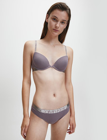 Calvin Klein Icon Cotton Bikini Brief, Plum Dust product photo