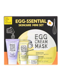 Too Cool For School Egg-Ssential Skin Care Mini Set product photo