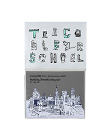 Too Cool For School Dinoplatz Charcoal Blotting Paper Refill, 50 Sheets product photo