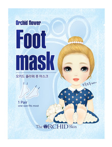 Orchid Skin Flower Foot Mask product photo