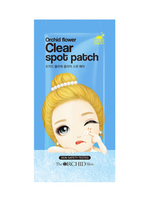 Orchid Skin Flower Clear Spot Patch product photo
