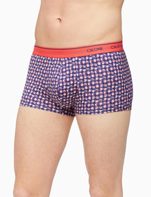 Calvin Klein CK ONE Micro Low Rise Trunk, Blue product photo