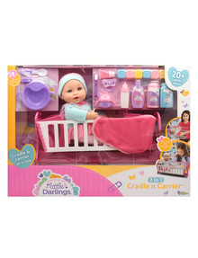 Little Darlings 2-in-1 Cradle N Carrier 23-pc. Set product photo