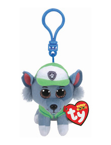 Ty Beanies Boo Clip-On Paw Patrol Rocky product photo
