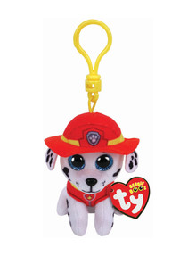 Ty Beanies Boo Clip-On Paw Patrol Marshall product photo