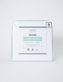 Haven Home Waterproof Terry Mattress Protector product photo
