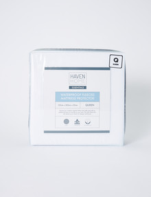 Haven Home Waterproof Fleeced Mattress Protector product photo