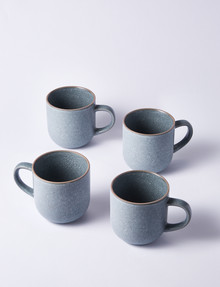 Salt&Pepper Hana Mugs 300ml, Set-of-4, Light Blue product photo