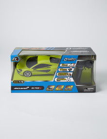DYNATECH 1:16 Full Function Remote Control High Speed McLaren Car, Assorted product photo