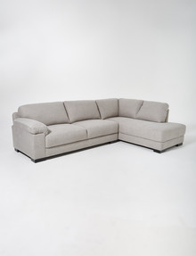 LUCA Barrett 2.5 Seater Sofa with Right-Hand Corner Chaise, Silver Grey product photo