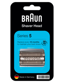 Braun Series 5 Red Foil Shaver Head, 52SCAS product photo