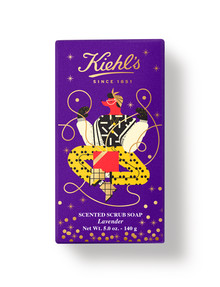 Kiehls Limited Edition Lavendar Scented Scrub Soap product photo