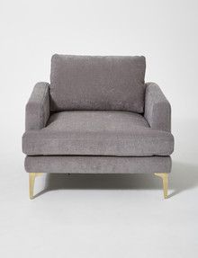 LUCA Colette Chair, Nickel product photo