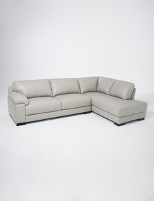 LUCA Barrett 2.5 Seater Sofa with Right-Hand Corner Chaise, Feather Grey product photo