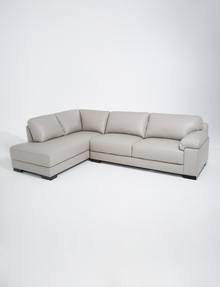 LUCA Barrett 2.5 Seater Sofa with Left-Hand Corner Chaise, Feather Grey product photo